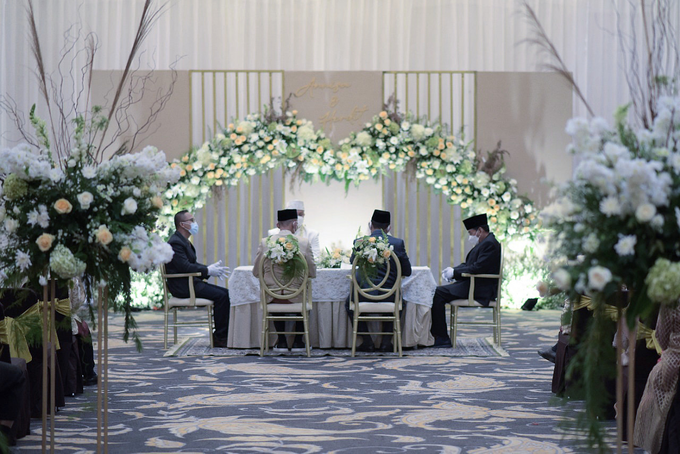 The Wedding of Annisa & Herdit by Cassia Decoration - 002