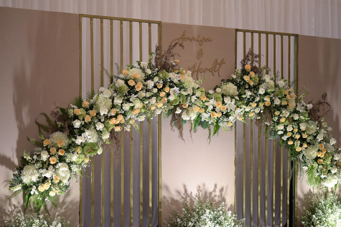 The Wedding of Annisa & Herdit by Cassia Decoration - 005