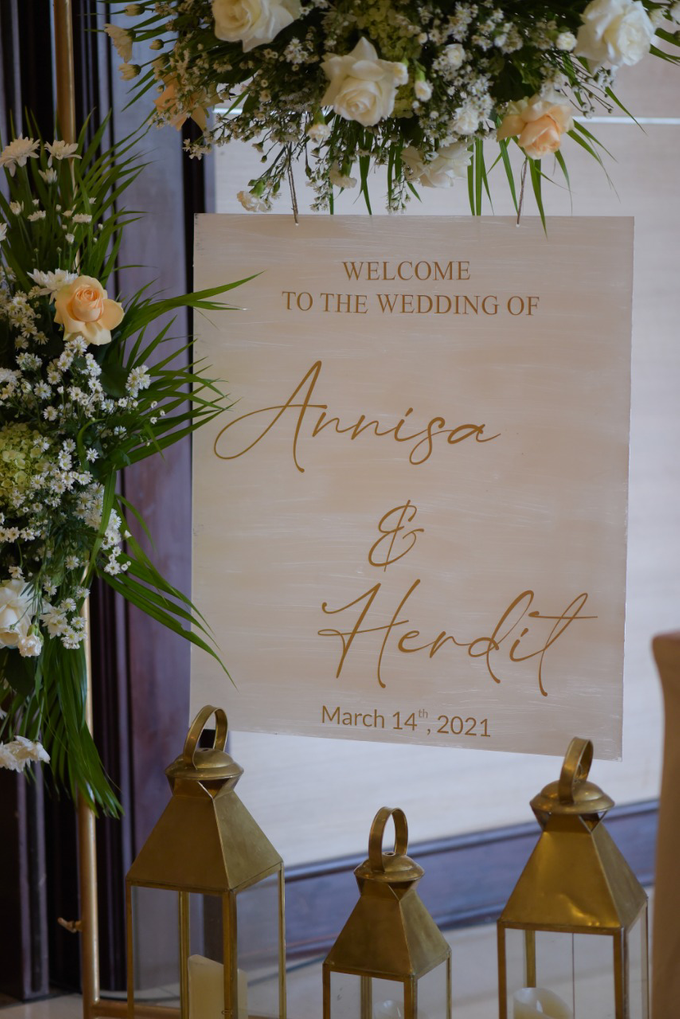 The Wedding of Annisa & Herdit by Cassia Decoration - 006