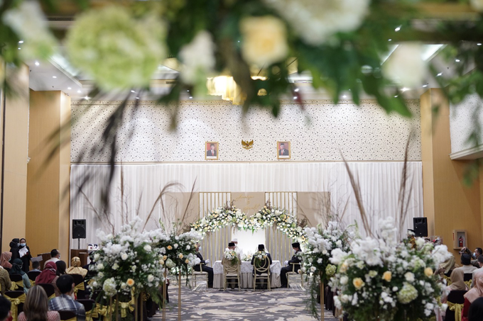 The Wedding of Annisa & Herdit by Cassia Decoration - 007