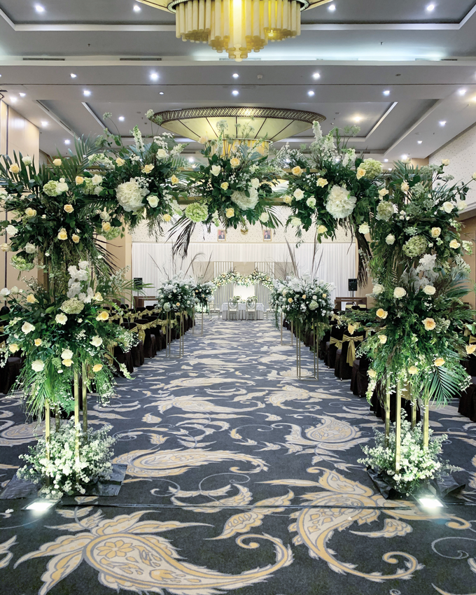 The Wedding of Annisa & Herdit by Cassia Decoration - 012