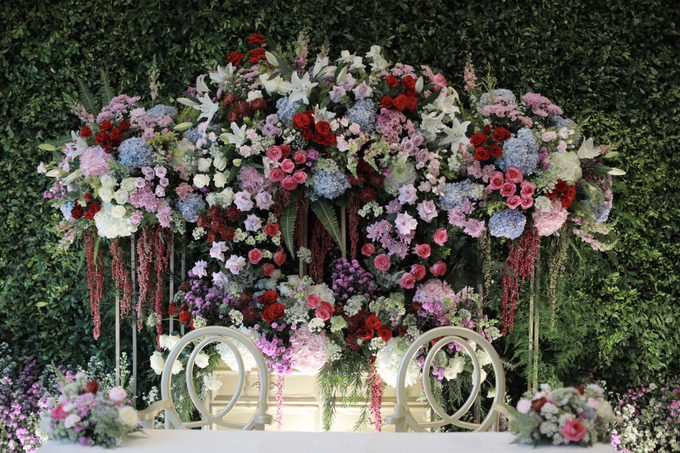 The Wedding of Micky & Dessy by Cassia Decoration - 009