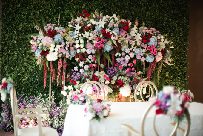 The Wedding of Micky & Dessy by Cassia Decoration - 010