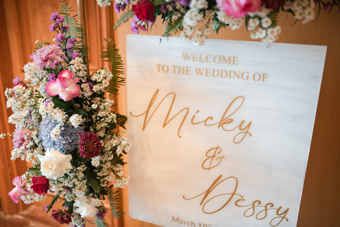 The Wedding of Micky & Dessy by Cassia Decoration - 013