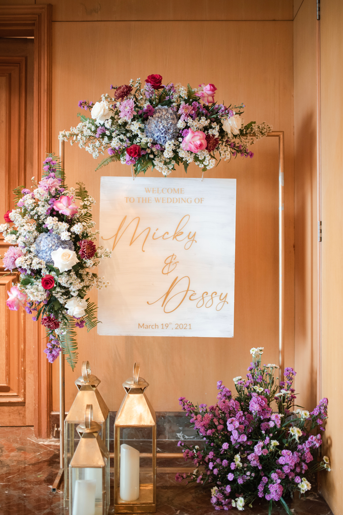 The Wedding of Micky & Dessy by Cassia Decoration - 017