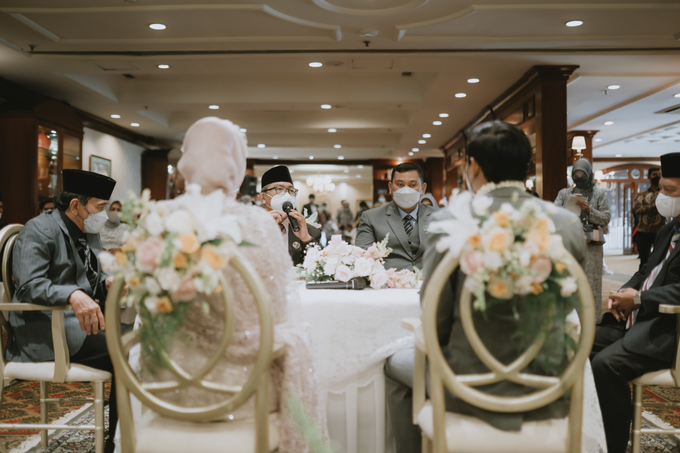 The Wedding of Rahmania & Nico by Cassia Decoration - 003