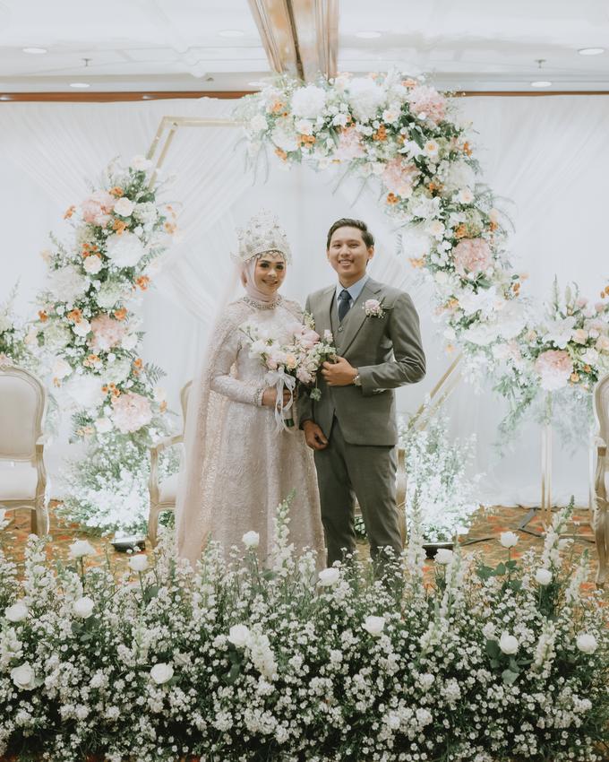 The Wedding of Rahmania & Nico by Cassia Decoration - 008