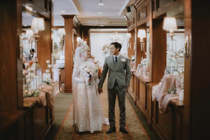 The Wedding of Rahmania & Nico by Cassia Decoration - 009