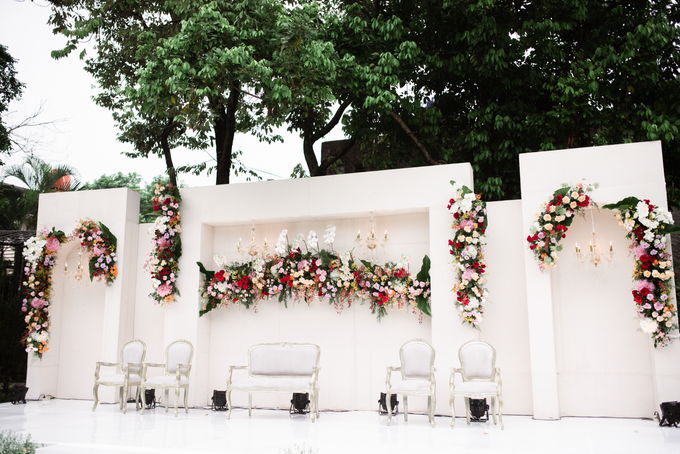 The Wedding of Lisa & Ghuzan by Cassia Decoration - 001