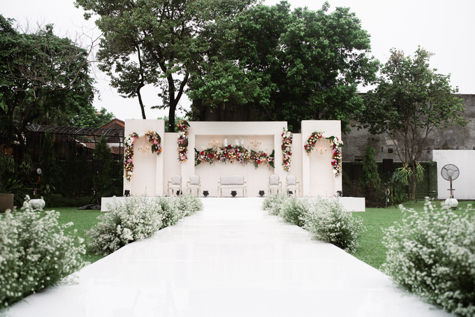 The Wedding of Lisa & Ghuzan by Cassia Decoration - 002