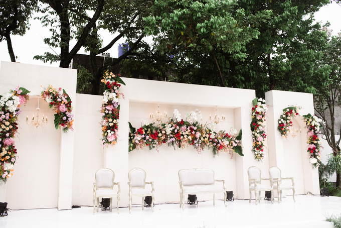 The Wedding of Lisa & Ghuzan by Cassia Decoration - 003