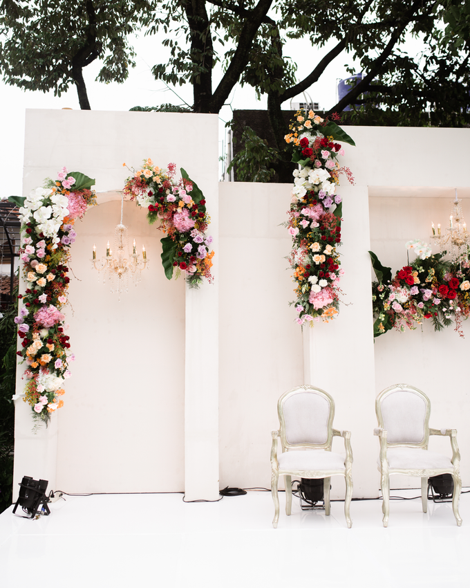 The Wedding of Lisa & Ghuzan by Cassia Decoration - 004