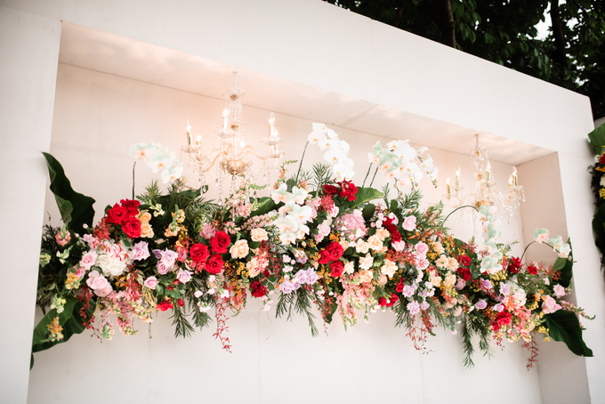 The Wedding of Lisa & Ghuzan by Cassia Decoration - 010