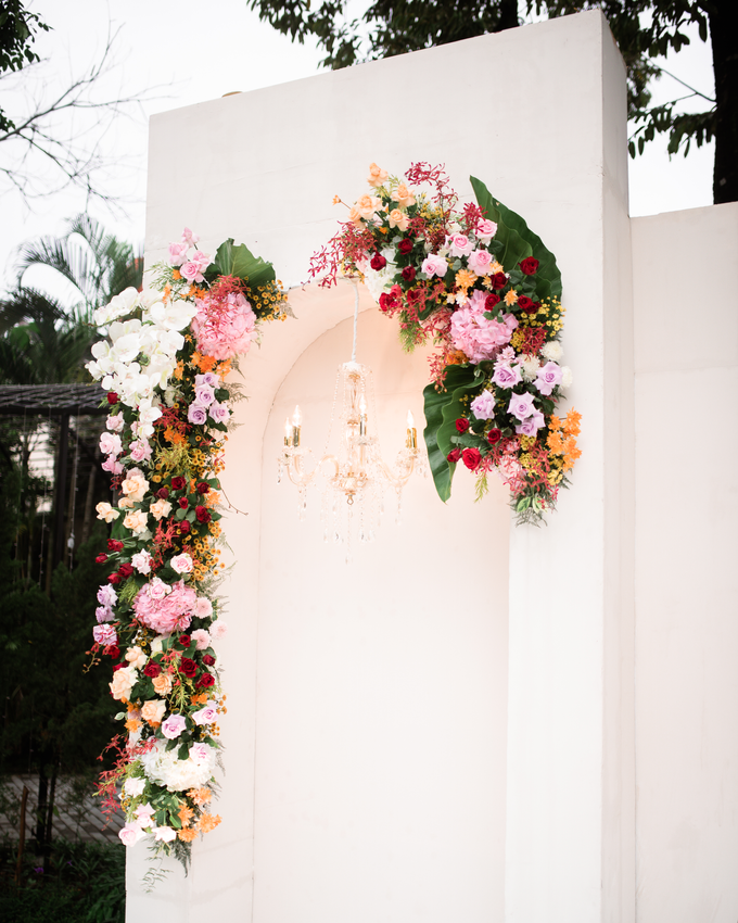 The Wedding of Lisa & Ghuzan by Cassia Decoration - 012