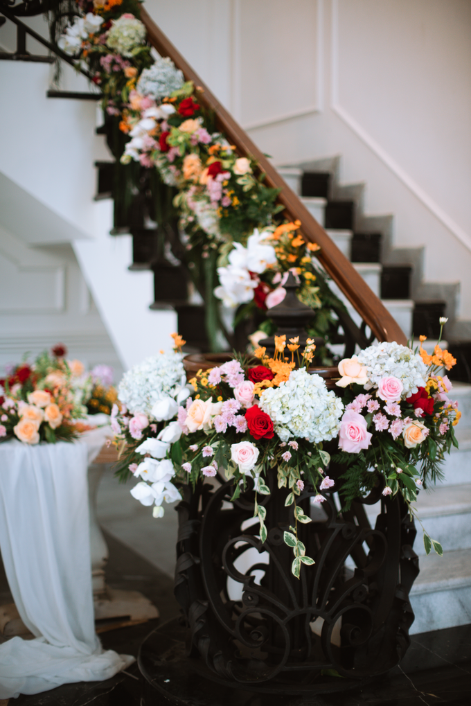 The Wedding of Lisa & Ghuzan by Cassia Decoration - 025