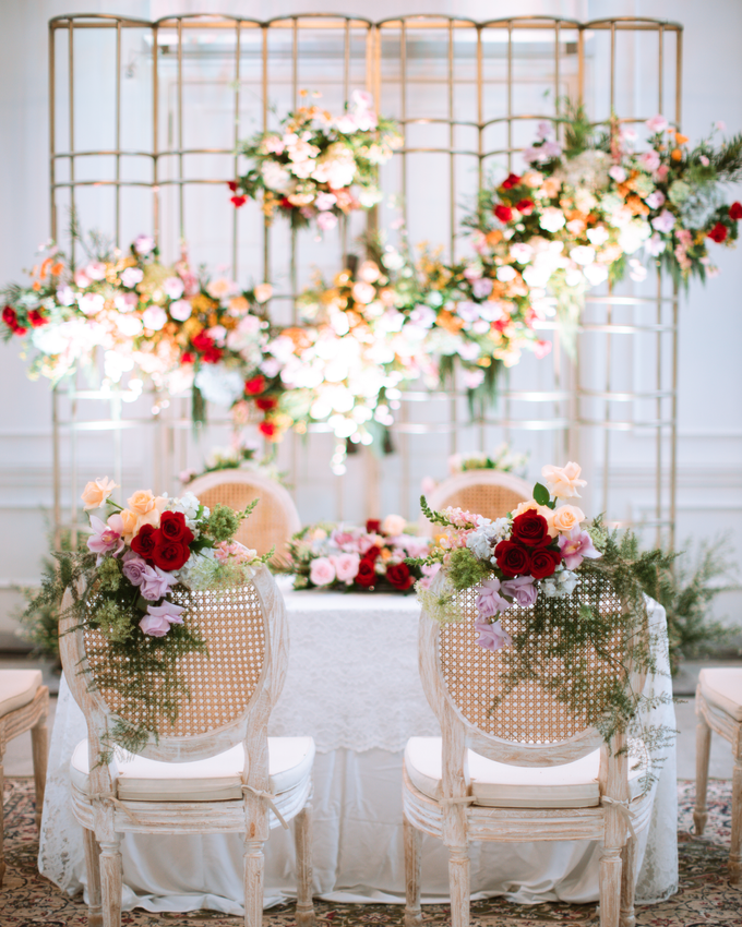 The Wedding of Lisa & Ghuzan by Cassia Decoration - 028