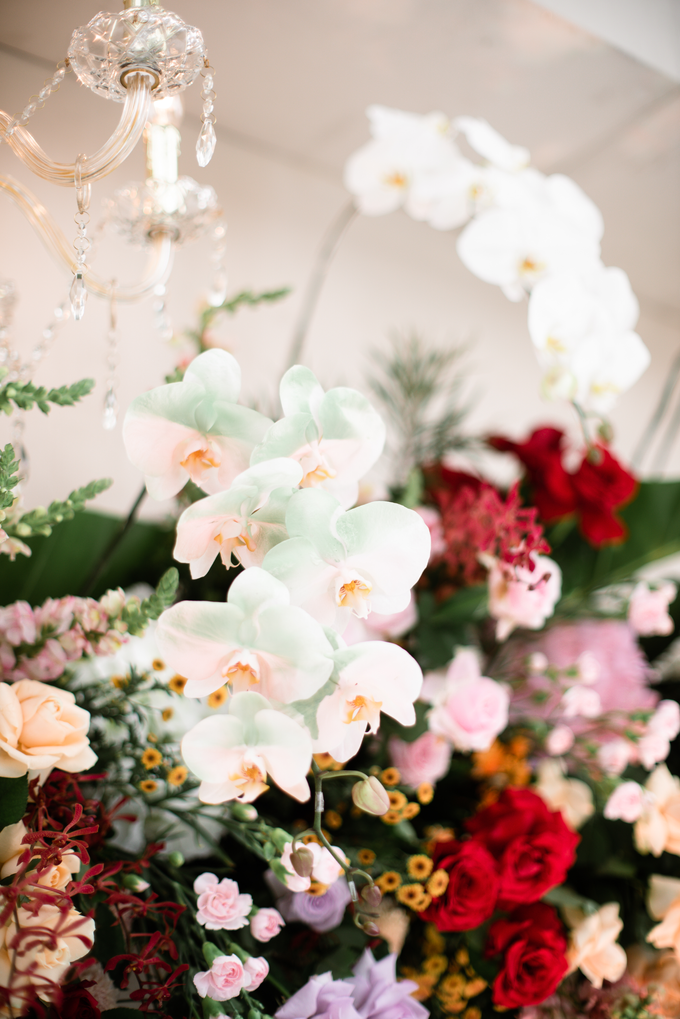 The Wedding of Lisa & Ghuzan by Cassia Decoration - 011