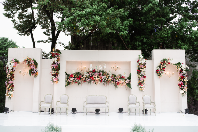 The Wedding of Lisa & Ghuzan by Cassia Decoration - 013