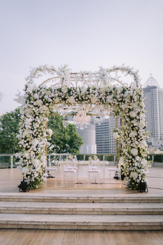 The Wedding of Callista & Ali by Cassia Decoration - 020