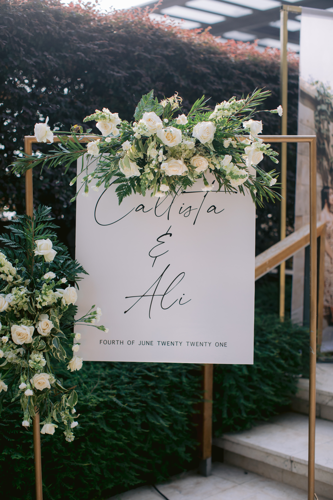 The Wedding of Callista & Ali by Cassia Decoration - 028