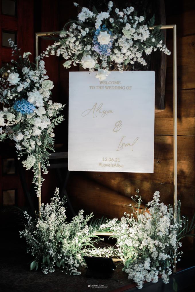 The Wedding of Aliya & Faisal by Cassia Decoration - 020