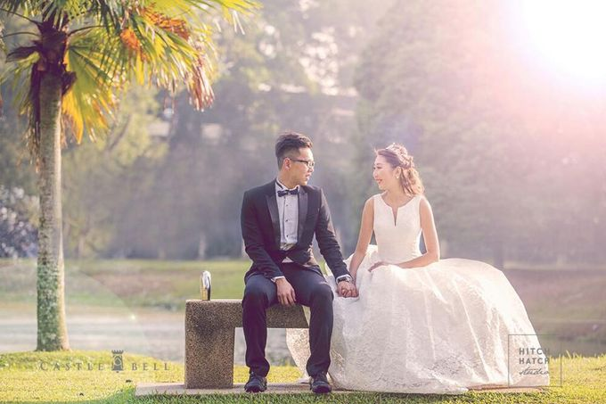 Bridal Gowns by Castlebell Wedding Mansion - 004