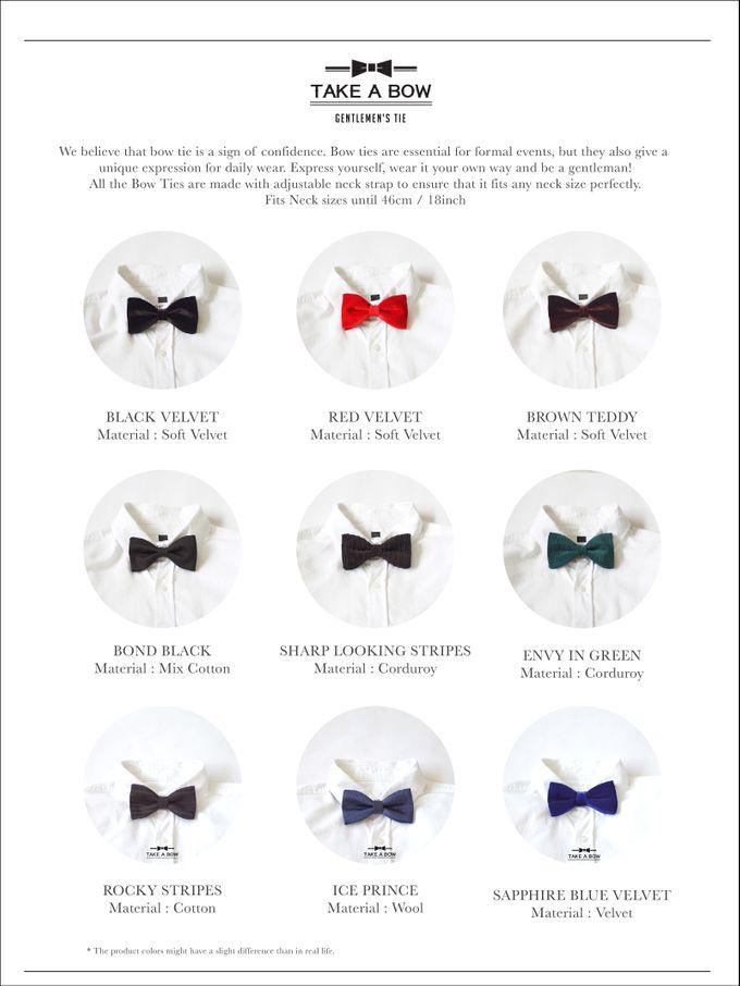 Pre-Tied Bow Tie by Take A Bow Tie - 003
