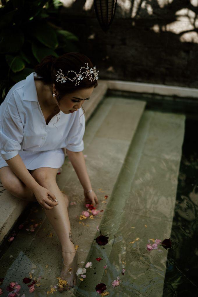 Cath & Chris Wedding Bali by Visesa Ubud - 012