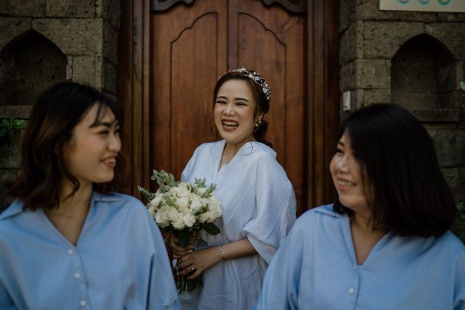 Cath & Chris Wedding Bali by Visesa Ubud - 015