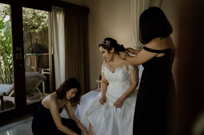 Cath & Chris Wedding Bali by Visesa Ubud - 017