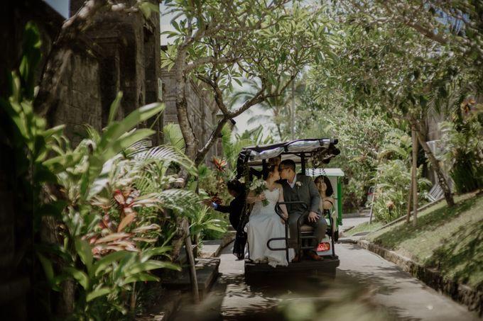 Cath & Chris Wedding Bali by Visesa Ubud - 018