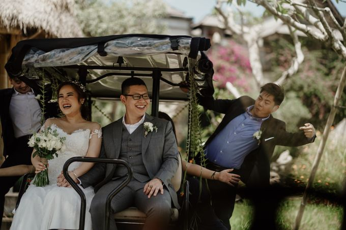 Cath & Chris Wedding Bali by Visesa Ubud - 019