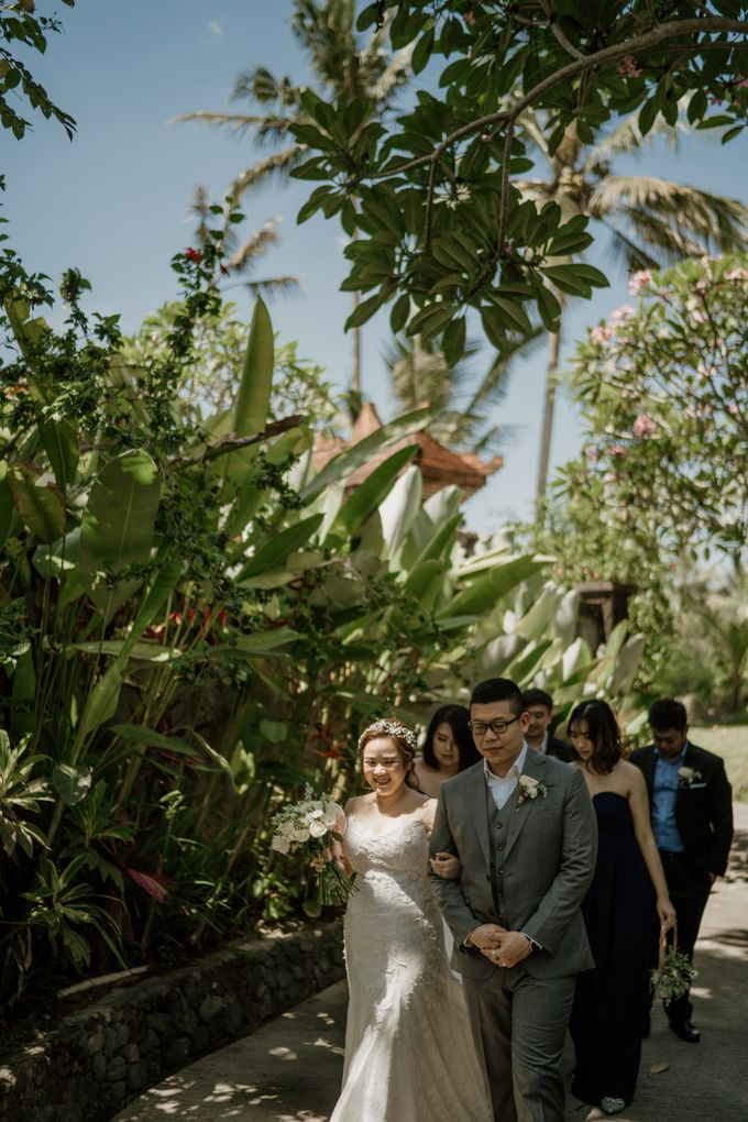 Cath & Chris Wedding Bali by Visesa Ubud - 020