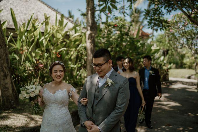 Cath & Chris Wedding Bali by Visesa Ubud - 021