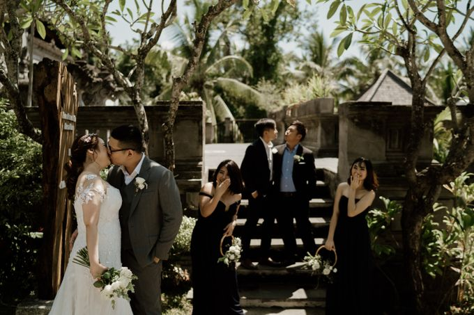 Cath & Chris Wedding Bali by Visesa Ubud - 022