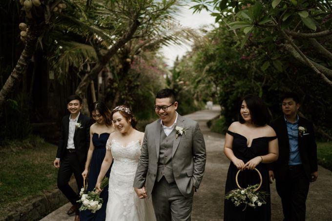 Cath & Chris Wedding Bali by Visesa Ubud - 024