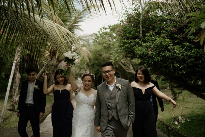 Cath & Chris Wedding Bali by Visesa Ubud - 026