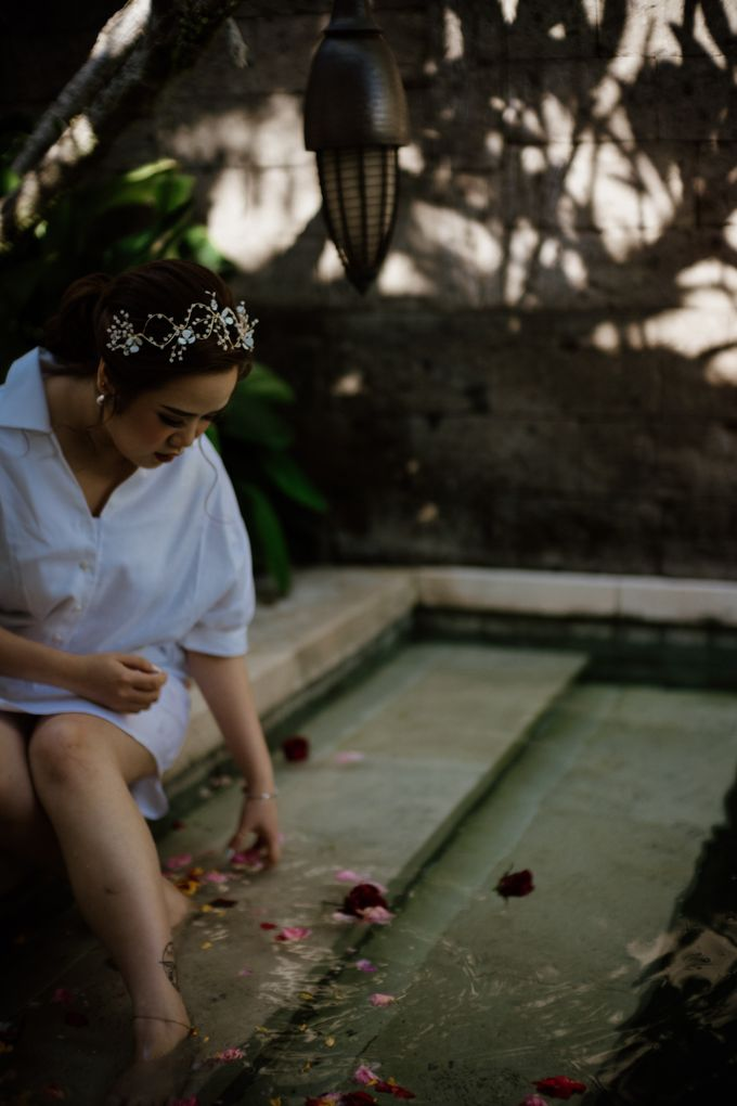 Cath & Chris Wedding Bali by Visesa Ubud - 003