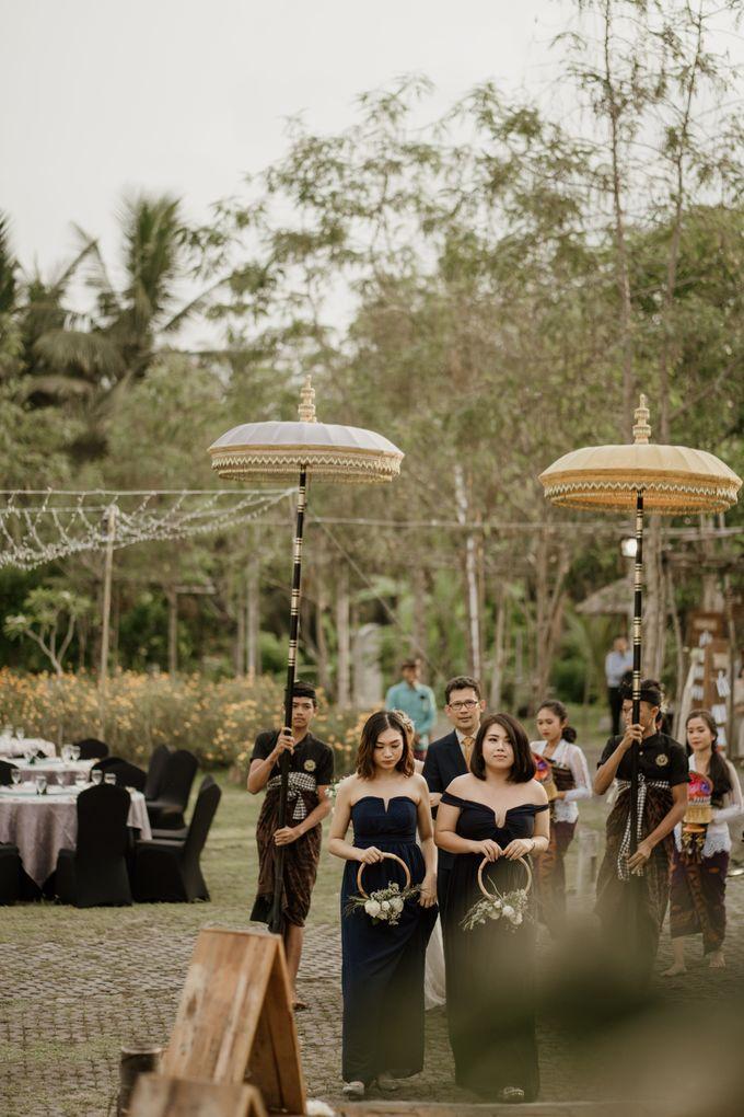 Cath & Chris Wedding Bali by Visesa Ubud - 030