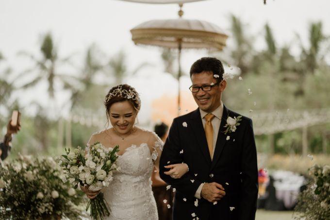 Cath & Chris Wedding Bali by Visesa Ubud - 031