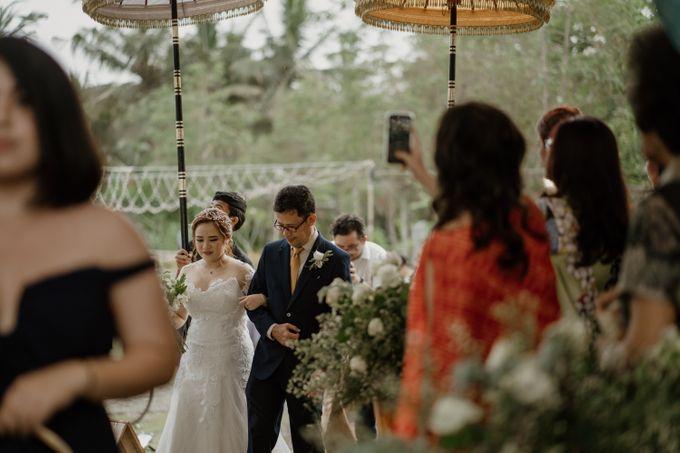 Cath & Chris Wedding Bali by Visesa Ubud - 032