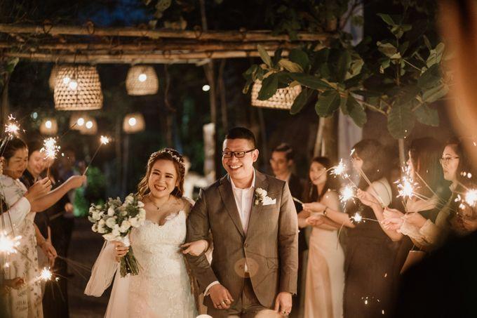 Cath & Chris Wedding Bali by Visesa Ubud - 034