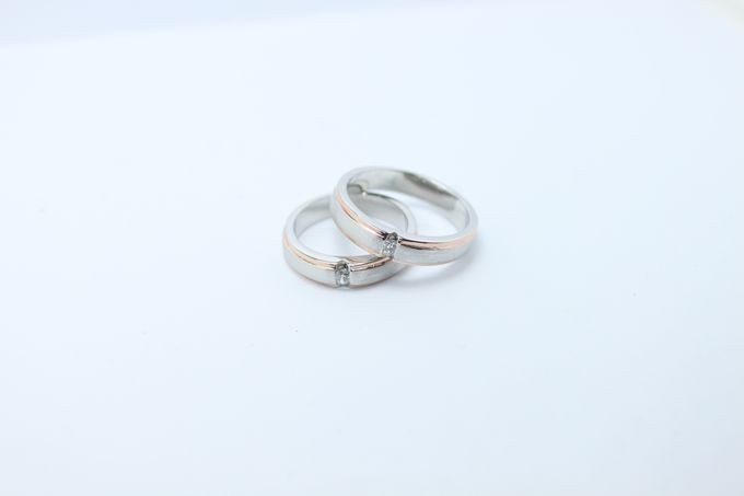 wedding ring simple Design by V&Co Jewellery - 012