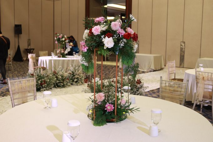 New Normal Wedding Jazz Entertainment at Sheraton Jakarta - Double V entertainment by LeNovelle Cake - 004