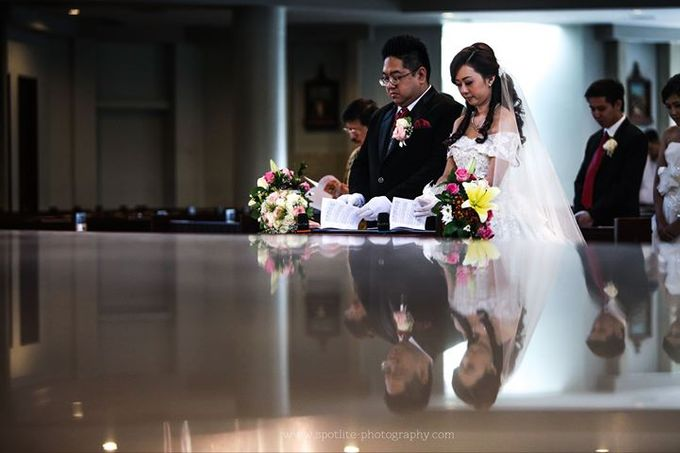 Albert + Cynthia - Wedding day by Spotlite Photography - 004