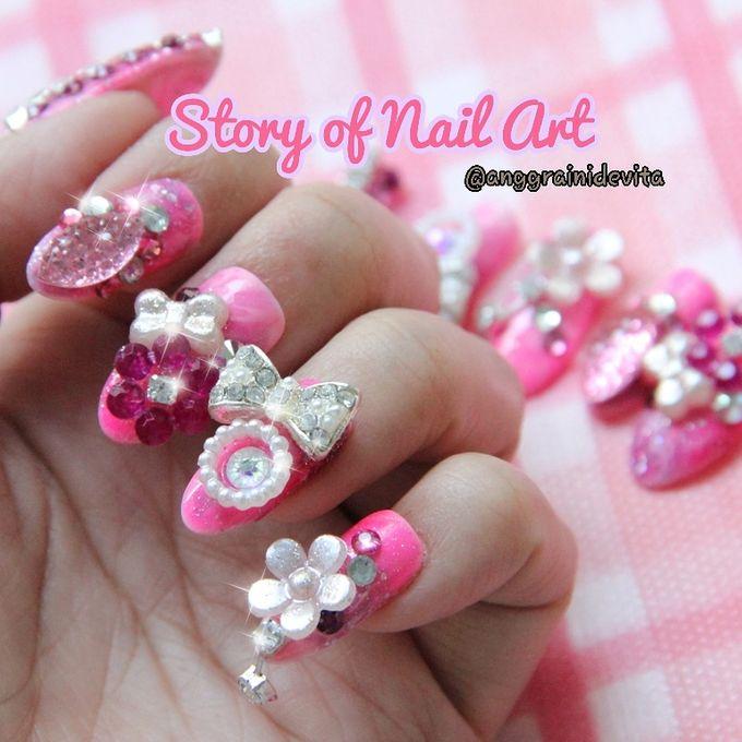 Fake Nails by Story of Nailart - 025