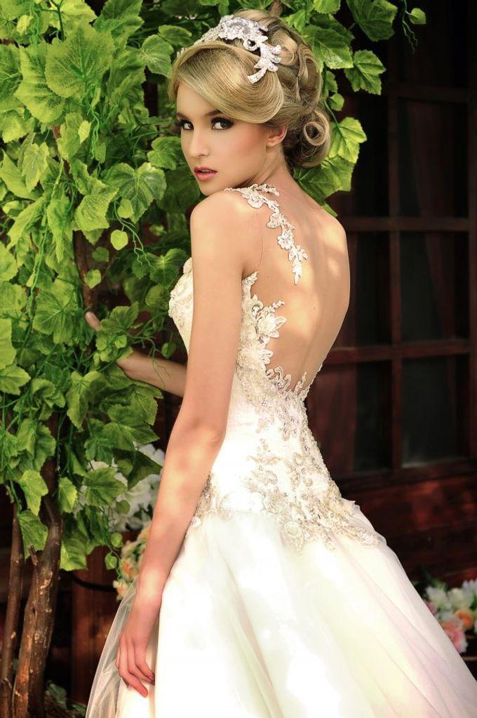 European Wedding Dresses by Gester Bridal & Salon Smart Hair - 003