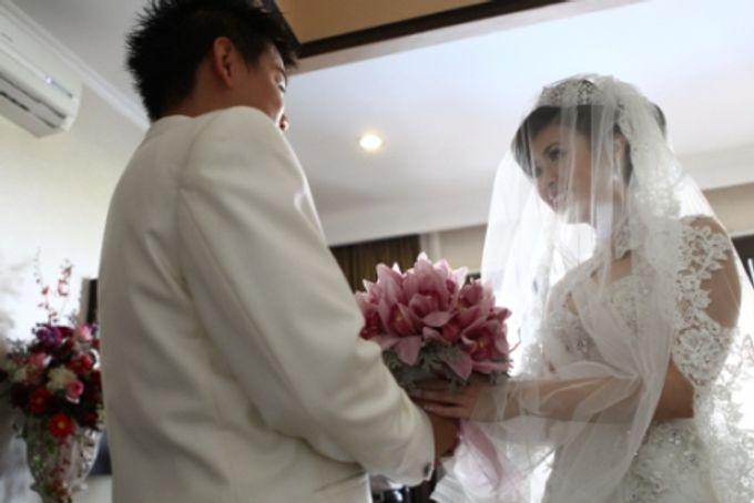 Wedding of Christian Adiwena and Rufina Tam by Flamingo Dewata Chapel and Villas - 004