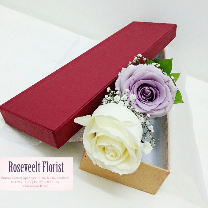 Flower in a Box Arrangement by Roseveelt Florist - 011