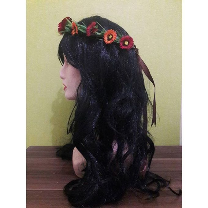 Flower Crown / Bando Bunga / Mahkota Bunga by Estrella Flower Crown - 001
